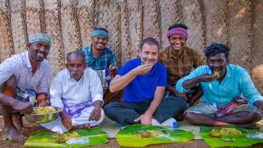 Village Cooking Channel Rahul Visit